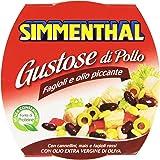 Simmenthal - Gustose Di Pollo, Fagioli E Olio Piccante - 160 G