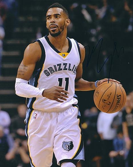 finest selection 6f3d4 cf906 Autographed Mike Conley, Jr.8x10 Memphis Grizzlies Photo at ...