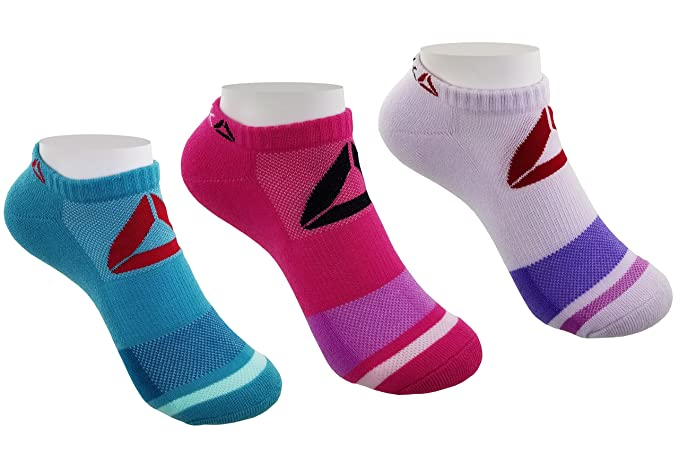 Clothing, Shoes & Accessories Socks Women Reebok Low Cut Performance Socks 6 PACK = 6 Pairs Sz 9-11 Multi Colors New