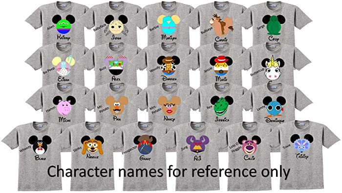 Amazon Com Toy Story Disney Vacation Disney Group Shirts Disney