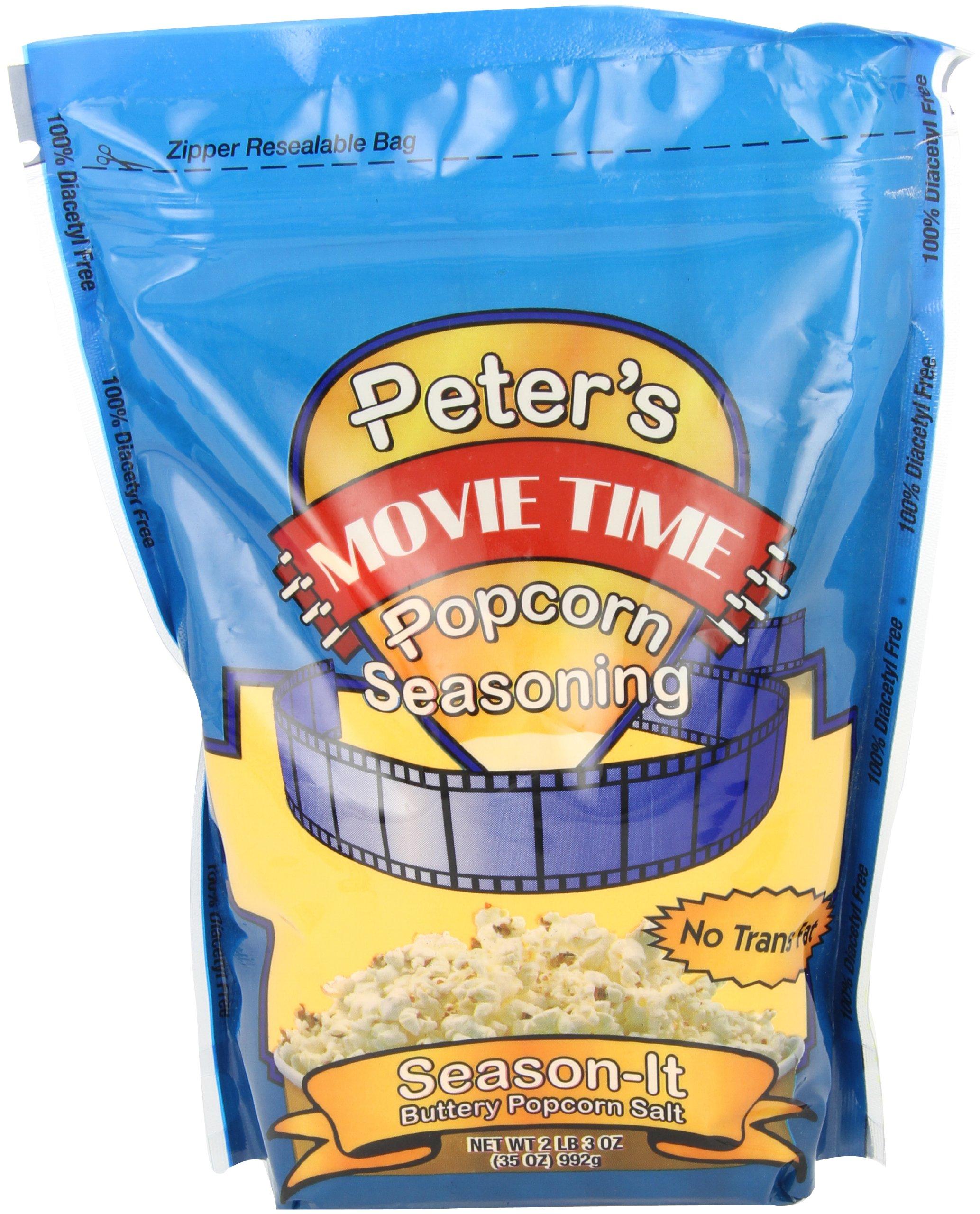 Benchmark 40010 Popcorn Seasoning Salt, 35 oz Capacity