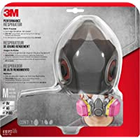 3M 62023HA1-C , Respirador Multiusos Profesional, Mediano