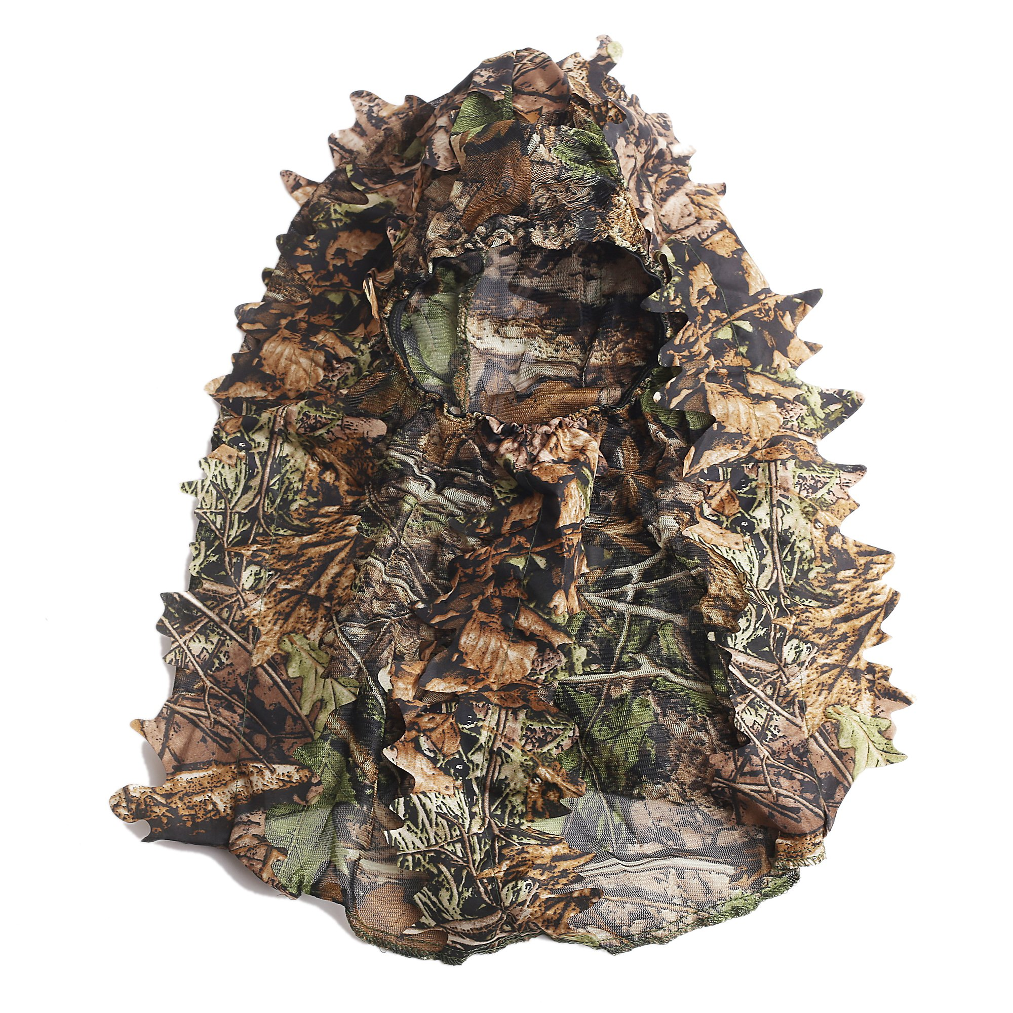 ABCAMO Light Weight Hunting Camouflage Full Cover 3D Leafy Face Mask by ABCAMO (Image #4)