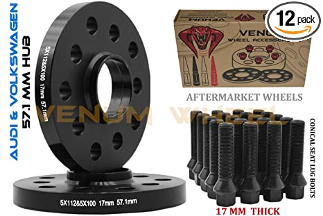 4pc 25mm Wheel Spacers Adapters Converts 5x100 Vehicles To 5x112 Wheels