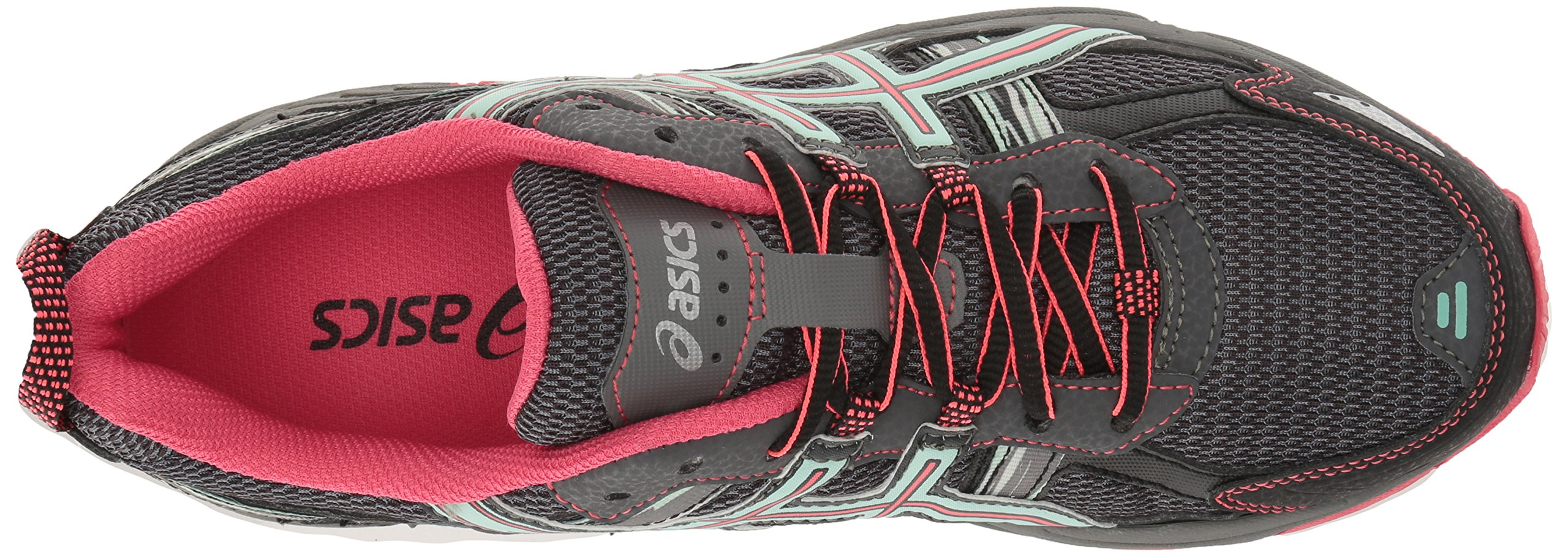 ASICS Women's Gel-Venture 5 Trail Runner, Carbon/Diva Pink/Bay, 9 M US by ASICS (Image #8)