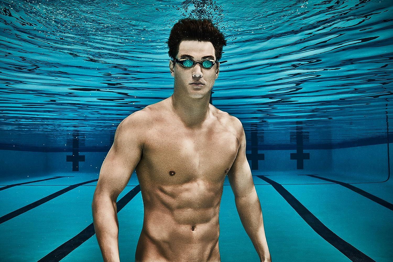 Nude in pool