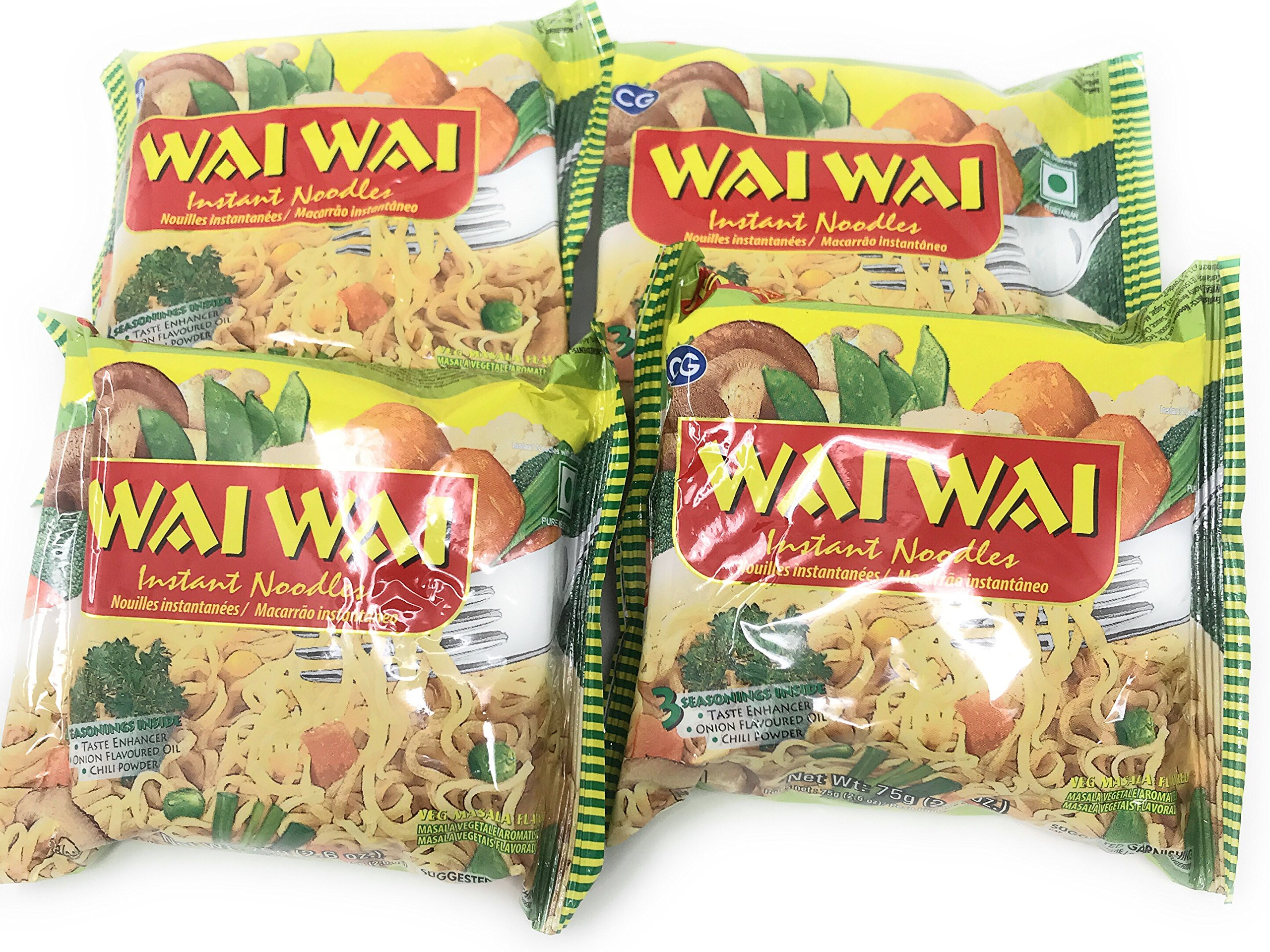 Amazon com : Wai Wai Nepali Instant Noodles by Chaudhary group