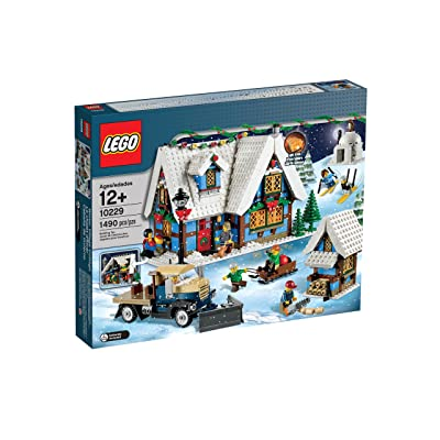 LEGO Creator Expert Winter Village Cottage 10229: Toys & Games