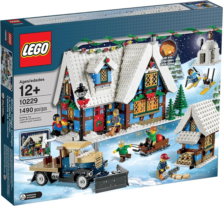Lego Christmas Village 2020 Amazon.com: LEGO Creator Expert Winter Village Cottage 10229: Toys