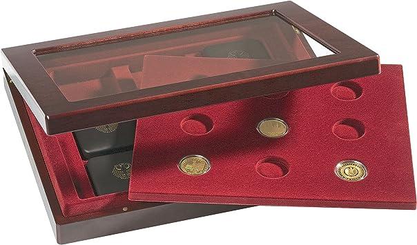 Leuchtturm 322134 Estuche para Monedas VOLTERRA Duo, 100 Euro Oro: Amazon.es: Juguetes y juegos