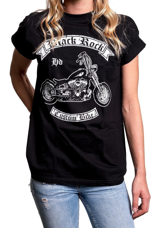 2efa03a4ac8 Amazon.com  MAKAYA Womens Motorcycle Clothing - Oversized Biker Shirt -  Plus Size Clothes for Women  Clothing