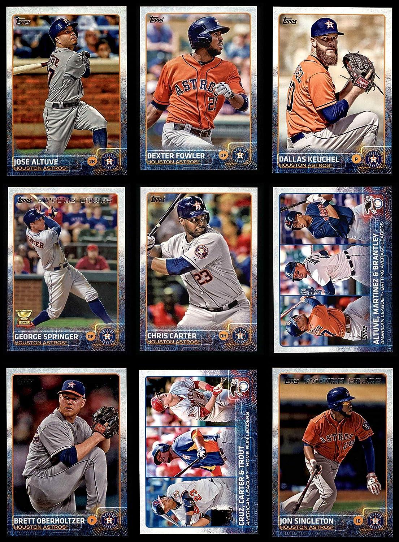 2015 Topps Houston Astros Team Set Houston Astros (Baseball Set) Dean's Cards 8 - NM/MT Astros 91pGLEWyWFL