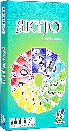 SKYJO de Magilano- El juego de cartas definitivo para niños y adultos.: Amazon.es: Juguetes y juegos