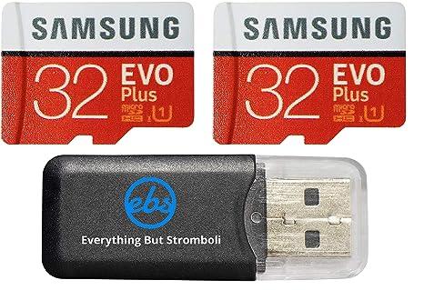 Samsung EVO Plus Micro - Tarjeta de Memoria SDHC (32 GB, Clase 10 ...