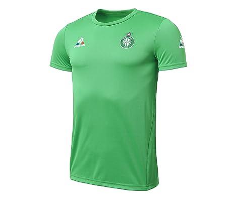 25a452eb67ed Le Coq Sportif Saint-Etienne 15 16 S S Football Training Shirt ...