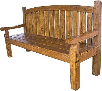 Amazonde Guru Shop Sitzbank Sofa Aus Teakholz Teakholzrecycelt