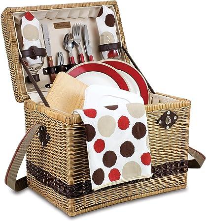 Amazon.com: Tiempo de picnic Yellowstone – Moka cesta de ...