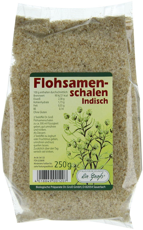 Cáscaras de semillas de psyllium (250 g): Amazon.es: Salud y cuidado personal