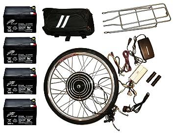 Electric Bike Kit 48v 1000w Front 26 Inch Wheel Hub Motor Diy