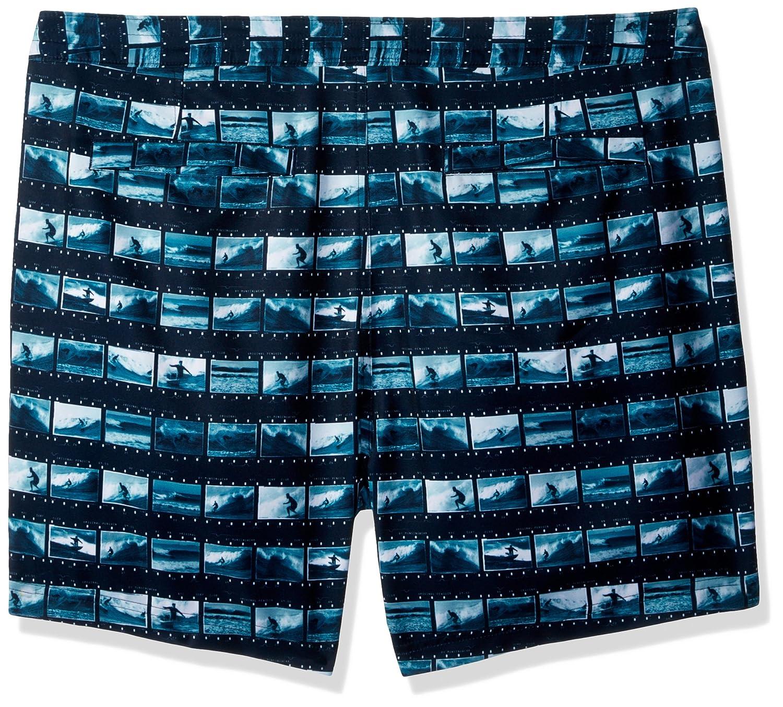 Original Penguin Men's Surf Photo Fixed Fixed Fixed Stretch Volley Trunk Swim Short B0746Q8P4F Badeshorts Schönes Design fe65b7