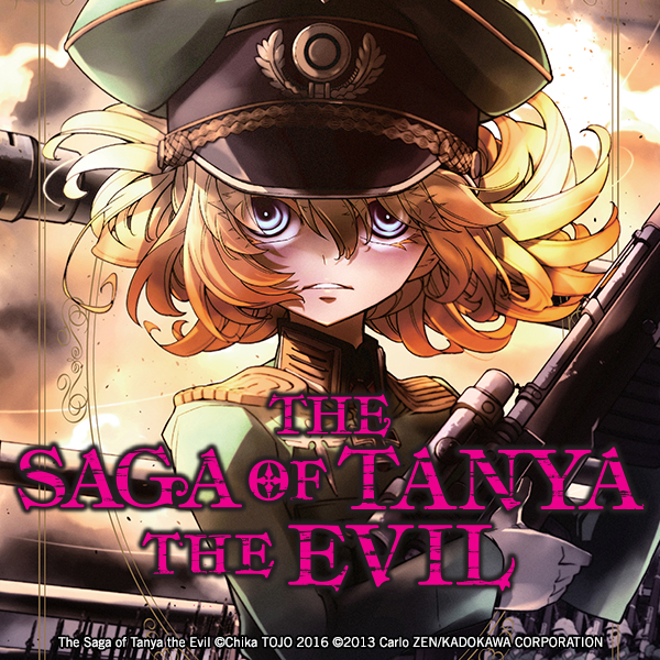 The Saga of Tanya the Evil (Issues) (4 Book Series)