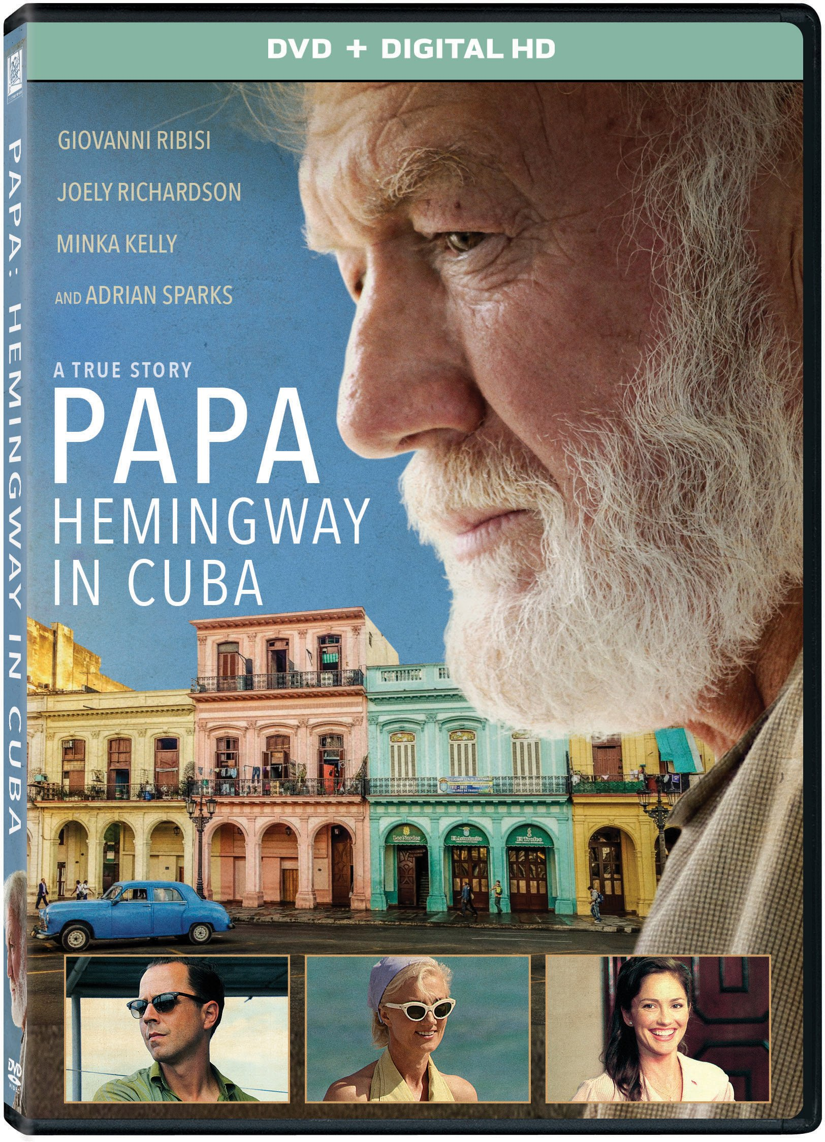 DVD : Papa: Hemingway In Cuba (Widescreen, , Dolby, AC-3, Digitally Mastered in HD)