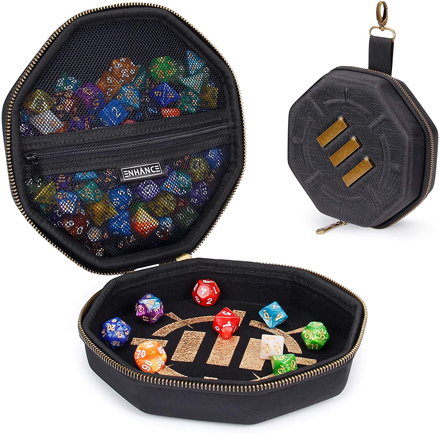 Wenge dice tray dungeons /& dragons or pathfinder great gift for a Critical Role fan or as a valet tray dice box for dnd