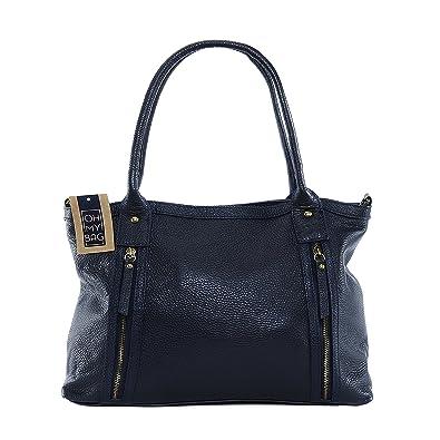 OH MY BAG Sac à main en cuir Rangoon bleu fonce SOLDES  Amazon.fr ... 01d3d0b61ddd