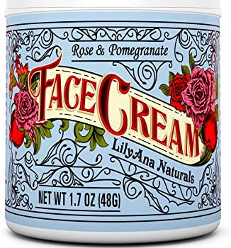 LilyAna Naturals Face Cream Moisturizer Natural Anti Aging