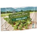 Cascadian Farm Organic, Broccoli Florets, Frozen Vegetables, Non-GMO, 10 oz Bag