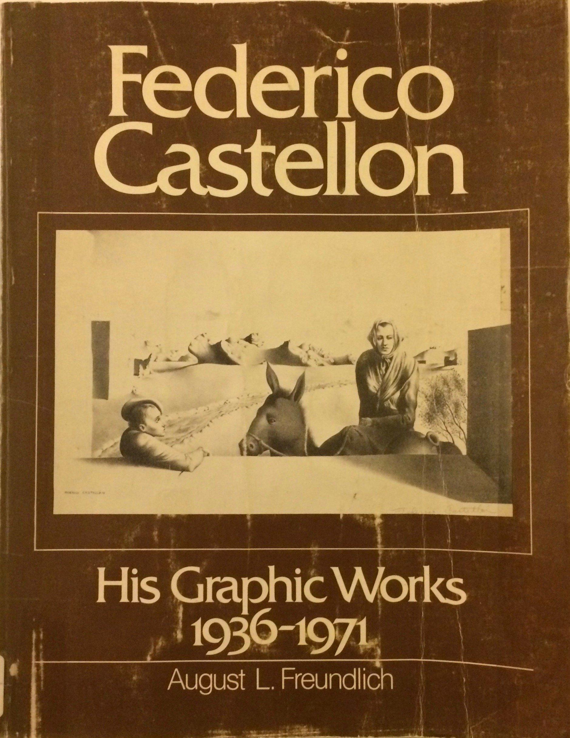 Amazon.com: Federico Castellon: His Graphic Works, 1936-1971 ...