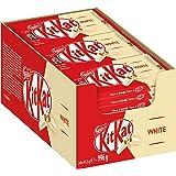 Nestle KitKat White Schoko-Riegel, Weiße Schokolade, 24er Pack (24 x 41,5g) großpackung