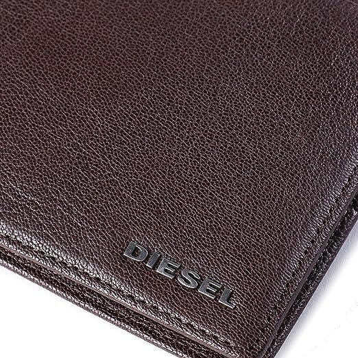 82c47a317 Diesel - Cartera para Hombre de 100% Piel Hombre Marrón marrón Talla única:  Amazon.es: Ropa y accesorios