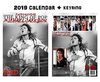 Amazon com : Michael Jackson Calendar 2019 + Michael Jackson