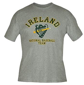 Amazon.com : Ireland Irish National Baseball Team Harp Logo Irish ...