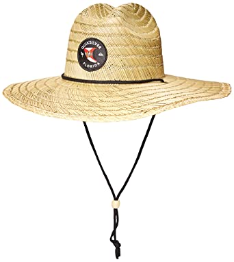 3cf197d3179972 Amazon.com: Quiksilver Men's DESTINADO Pierside Sun HAT, Black ...