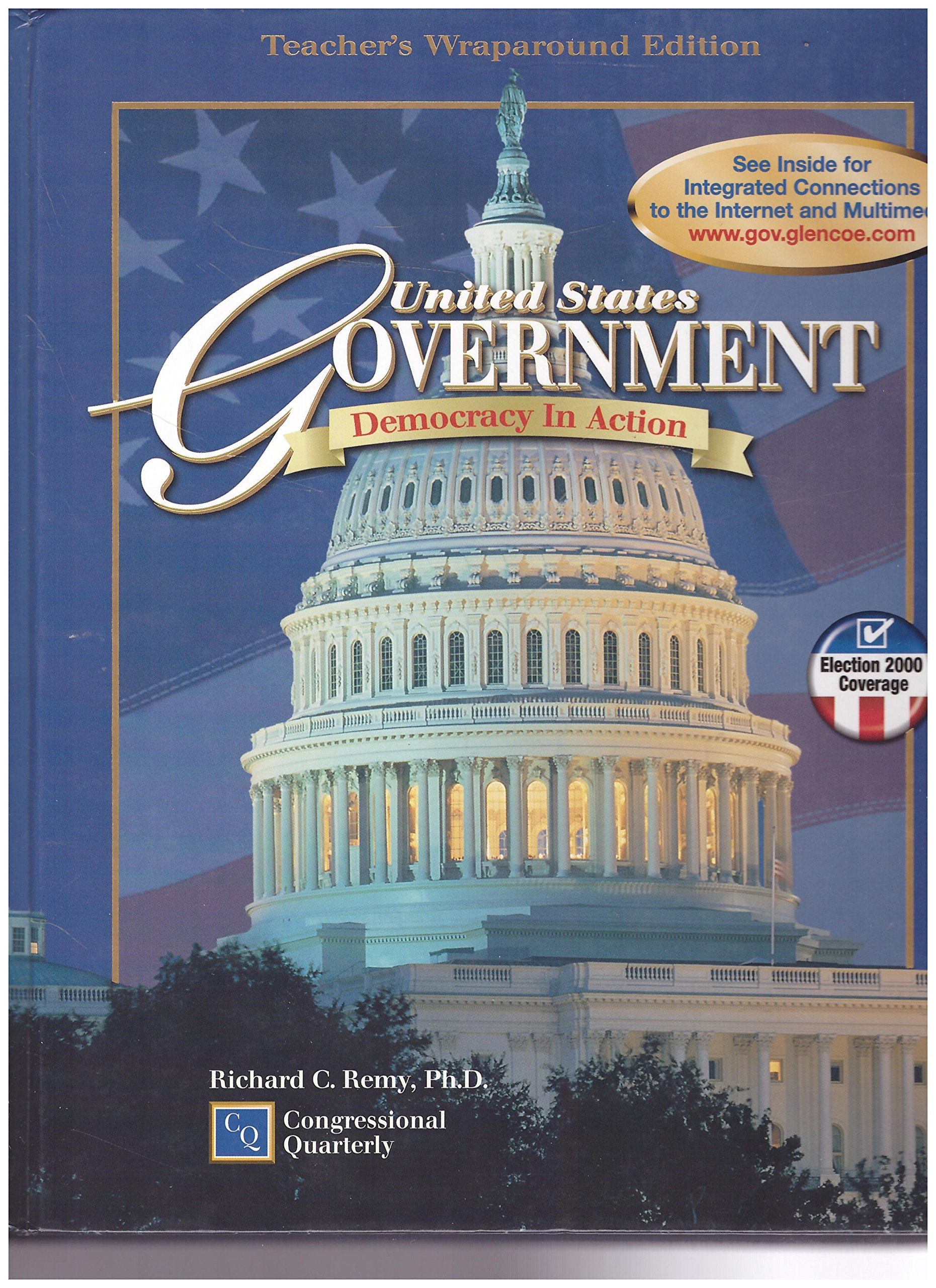 Buy United States Government: Democracy in Action, Teacher Book Online at  Low Prices in India   United States Government: Democracy in Action, ...