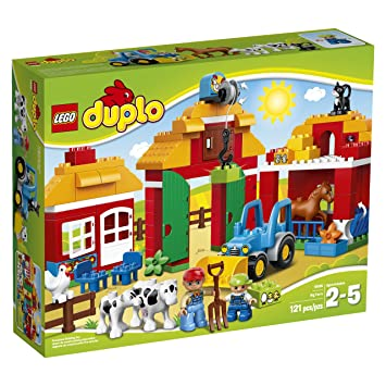 LEGO DUPLO Town Big Farm 10525 Toddler Toy, Large Building Bricks