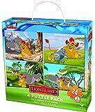 Disney The Lion Guard Puzzle (24 Piece), 4 Pack