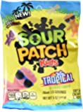 Sour Patch Kids Sweet and Sour Gummy Candy, Tropical, 5 Ounce (Pack of 12)