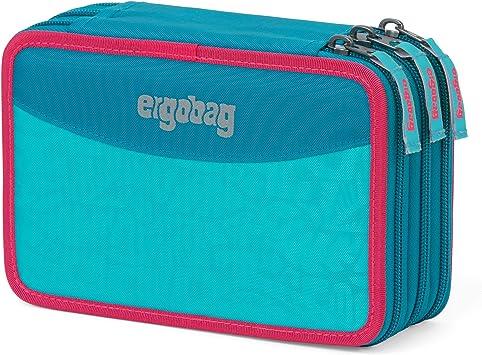 ergobag Maxi Pencil Case Estuche, Juventud Unisex, Hawaiian Turquoise (Azul), Talla Única: Amazon.es: Deportes y aire libre