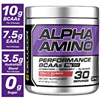 Amazon.com deals on Cellucor Alpha Amino EAA & BCAA Recovery Powder Fruit Punch 30Ct