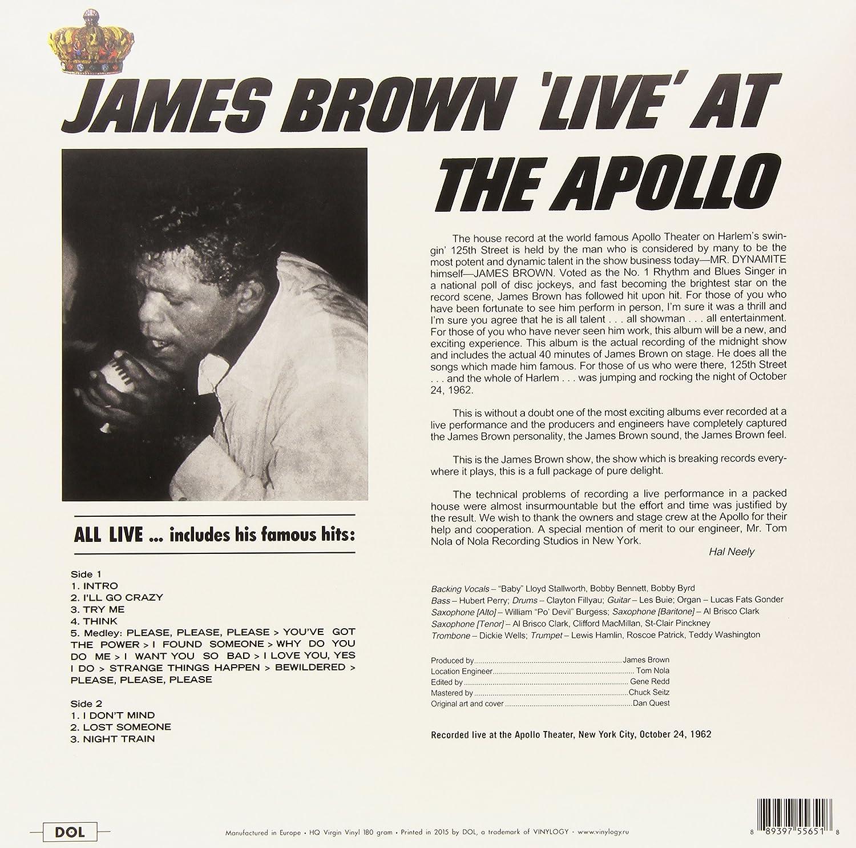 Amazon   Live at the Apollo [12 inch Analog]   James Brown   R&B ...