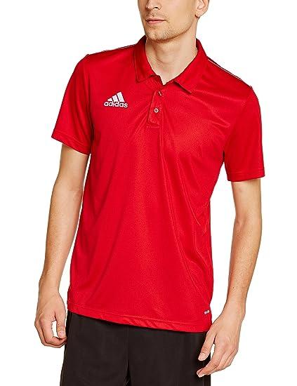 181aa10d6 adidas Core 15, Polo Uomo, Rosso (Rot/Weiß), S: Amazon.it: Sport e tempo  libero