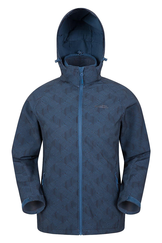 Mountain Warehouse Exodus Mens Softshell Jacket - Summer Rain Coat