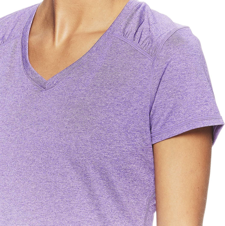 Performance V-Neck Activewear Top HEAD Womens Perfect Match Short Sleeve Workout T-Shirt