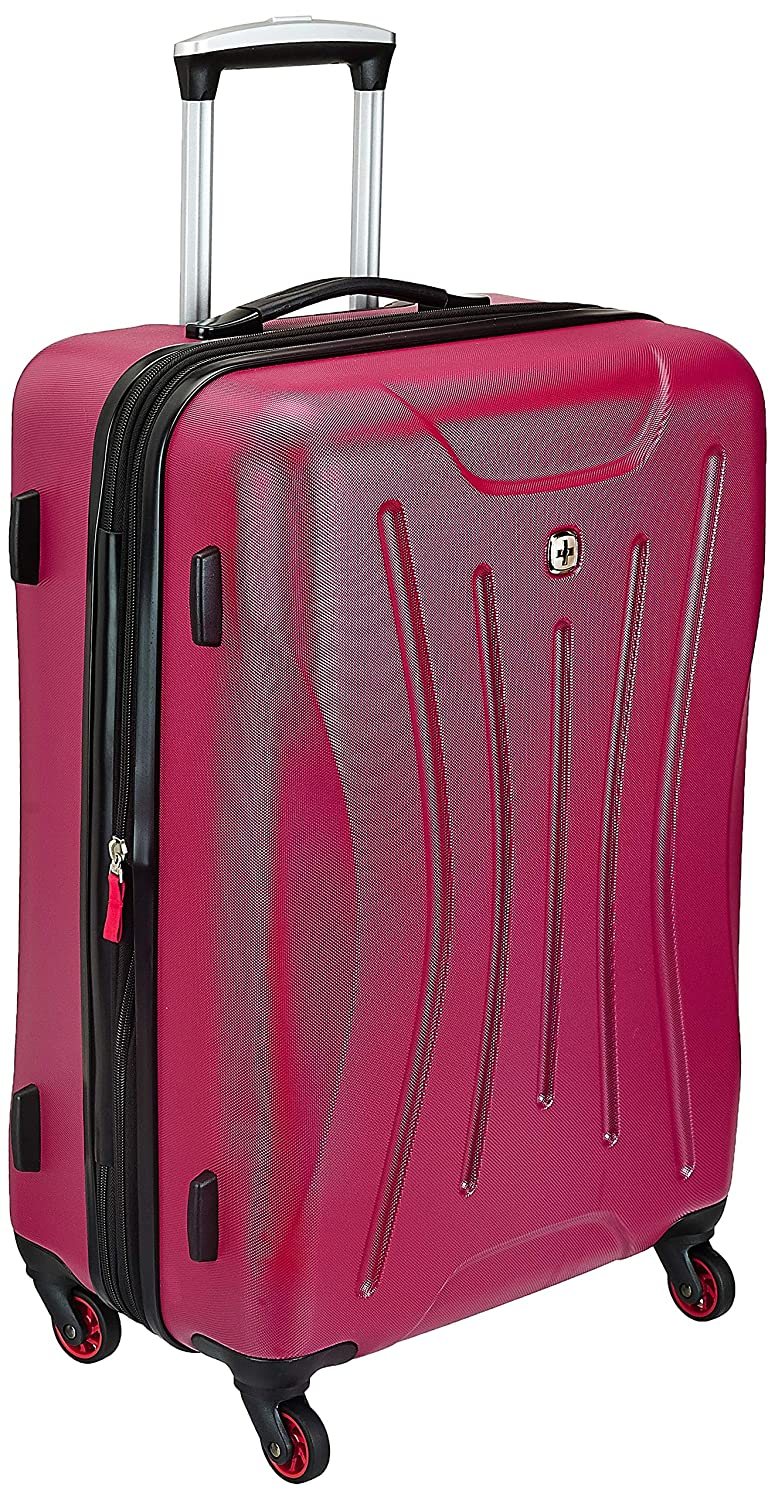 Swiss Gear ABS 26.04 Cms Pink Hardsided Check-In Luggage (7270808167)