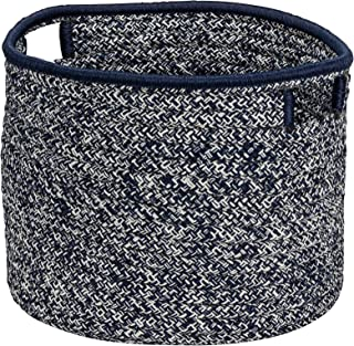 """product image for Colonial Mills Casablanca Basket, 20""""x20""""x14"""", Blue"""