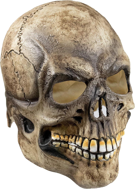 Skull Skeleton Halloween Mask Ghost Death Horror Costume Party Festival Cosplay