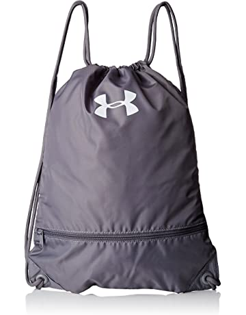 Under Armour Team Sackpack Backpack, One Size, Black
